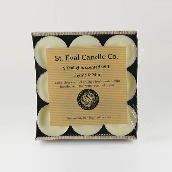 St Eval Thyme & Mint Scented Tea Lights