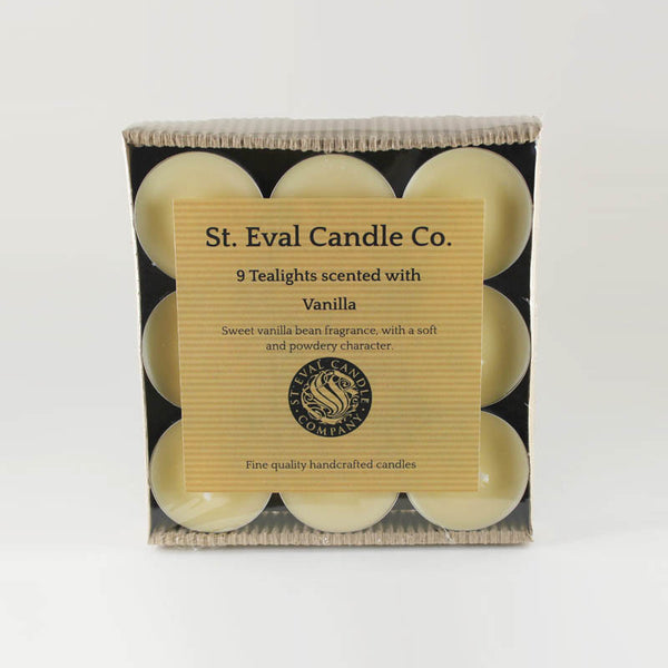 St Eval Vanilla Scented Tea Lights