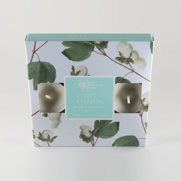 Wax Lyrical Soft Cotton Scented Tealights