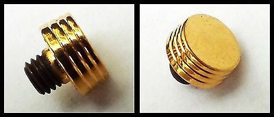 Parker 75 Flat Top Fountain Pen Cap Top Part in Gold Filled, New Old Stock (Ref.#766)