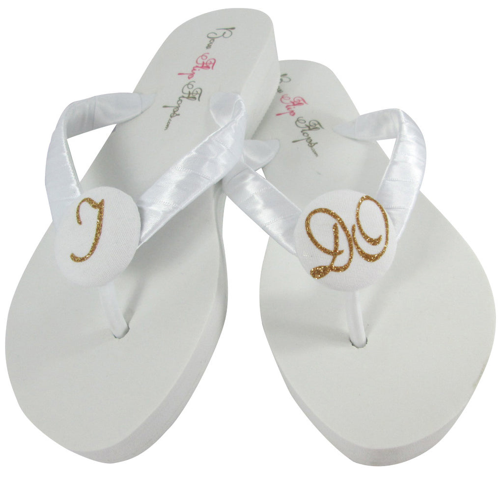 Wedding Bridal Flip Flops