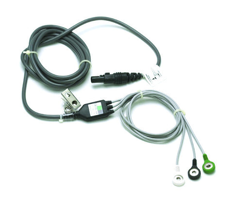 3-Lead Integrated ECG Cable for Lumenair/TS4/MC2