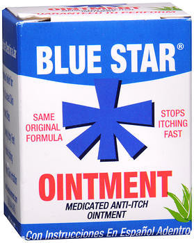 Blue Star Ointment with Soothing Aloe, 2 oz