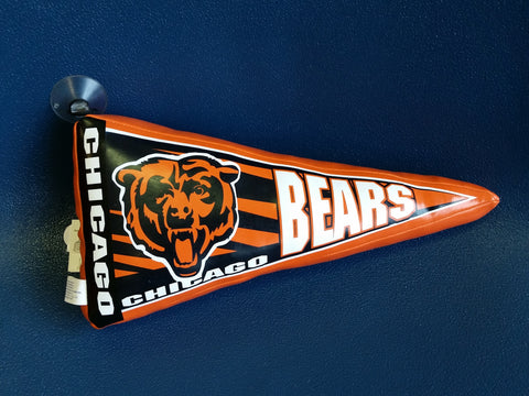 Chicago Bears stuffed pennant