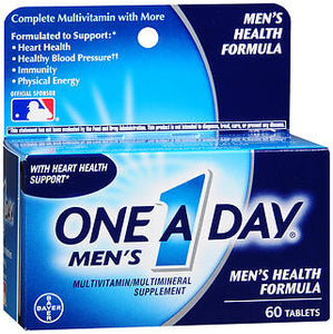 One A Day Men's Health Formula Tablets, 60 tablets