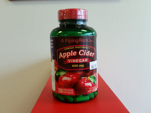 Apple Cider Vinegar, 200 capsules