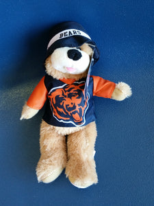 Chicago Bears stuffed bear