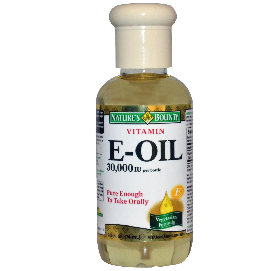 Nature's Bounty, Vitamin E-Oil, 30,000 IU