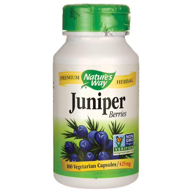 JUNIPER BERRIES 425 MG 100 Capsules