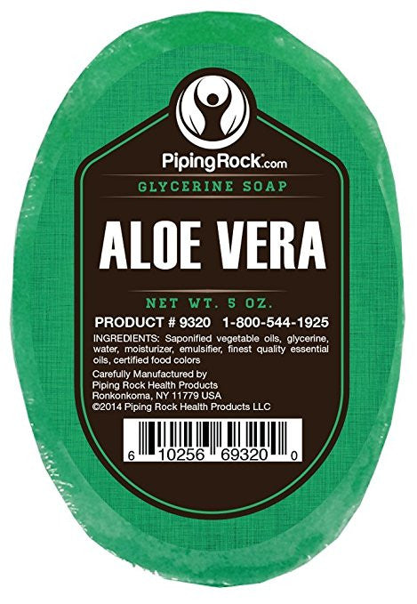 Aloe Vera Glycerine Soap, 5oz. Bar