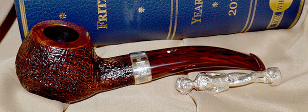 Dunhill Cumberland Christmas Pipe 2014 #X14A