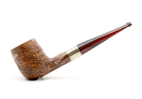 Dunhill County Group 4 2010 Estate Pipe w/ Silver Band #4103F