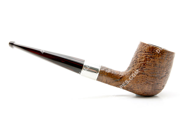 Dunhill County Group 4 2010 Estate Pipe w/ Silver Band #4103E