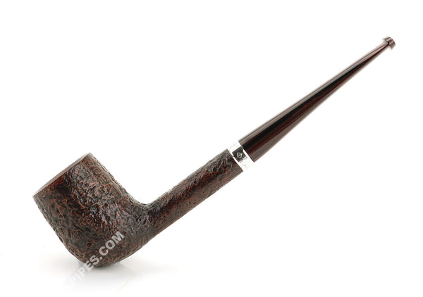 Dunhill Cumberland Group 4 Crosby Pipe w/ Silver Band #4110
