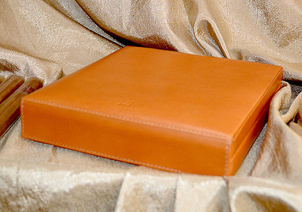 Dunhill HS2010 Terracotta Leather Travel Humidor