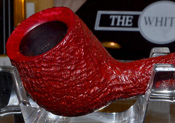 Dunhill Ruby Bark Sterling Group 3 Pipe #3101