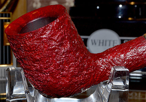 Dunhill Ruby Bark Sterling Group 4 Pipe #4103B