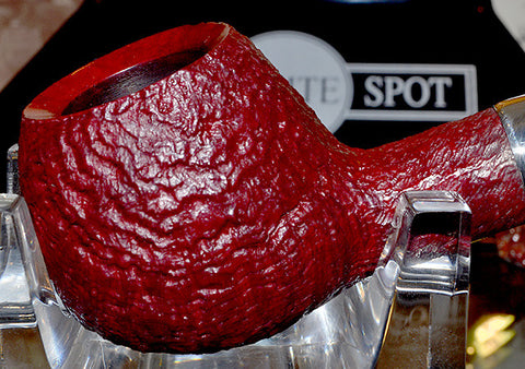 Dunhill Ruby Bark Sterling Group 4 Pipe #4107