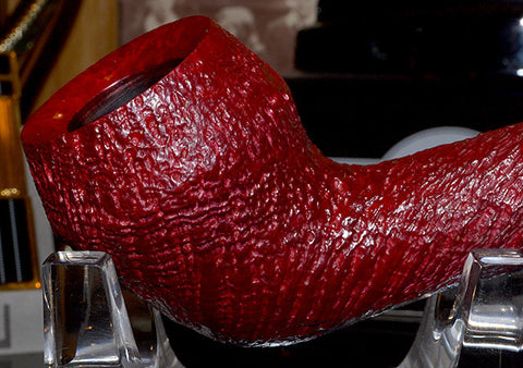 Dunhill Ruby Bark Sterling Group 4 Pipe #4QTB