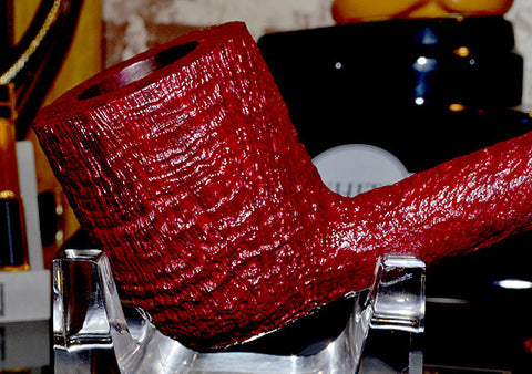 Dunhill Ruby Bark Sterling Collector HT Pipe #HTB