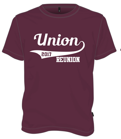 Union College Class of 2017 ReUnion Tshirt