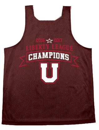Union College Men's Basketball A4 Reversible Pinney