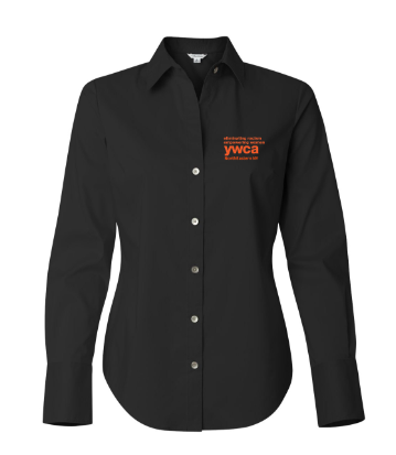 YWCA Women's Button-Up Shirt