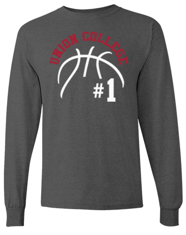 Union College Men's Basketball Long Sleeve T-Shirt