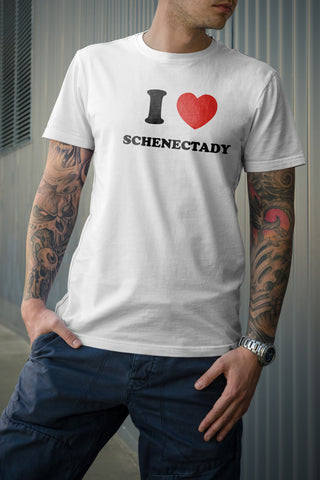 I Heart Schenectady - Downtown Custom Printwear  - 1