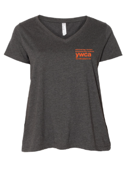 YWCA Plus Sized V-Neck Tee