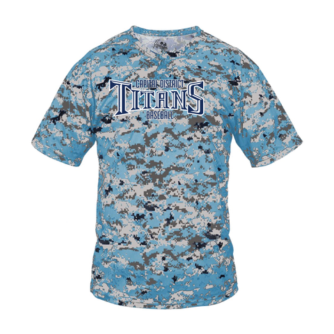 Titans Digital Camo T-Shirt - Downtown Custom Printwear