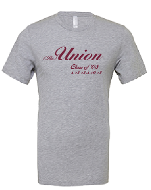 Union College Class of 2008 ReUnion Shirt