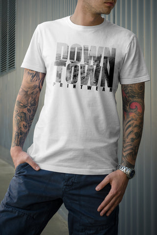 Downtown Custom Printwear Vintage Tee - Downtown Custom Printwear  - 1