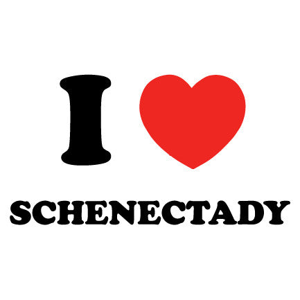 I Heart Schenectady - Downtown Custom Printwear  - 3