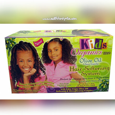 Z. Organics Kids Hair Softening Kit