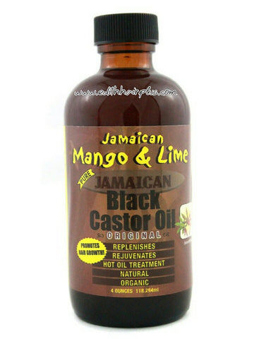 Z. Jamaican Black Castor Oil