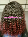 EC Lace Front Wig Deep Wave