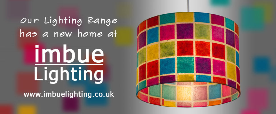 Imbue Lighting .co .uk is the new home for our range of interior lighting