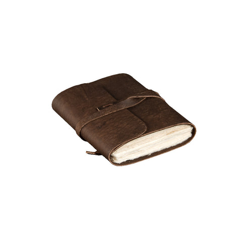 Pocket Sized Buffalo Leather Journal