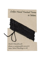 10 meter Lokta Twine on Card ~ Pack of 10