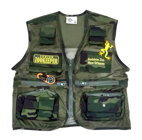 "Audubon Zoo ""Wild West"" Kid's Camo Vest"