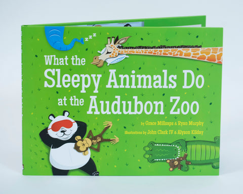 What the Sleepy Animals Do at the Audubon Zoo ~ Children's Book