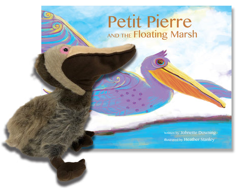Petit Pierre and the Floating Marsh With Pelican Plush