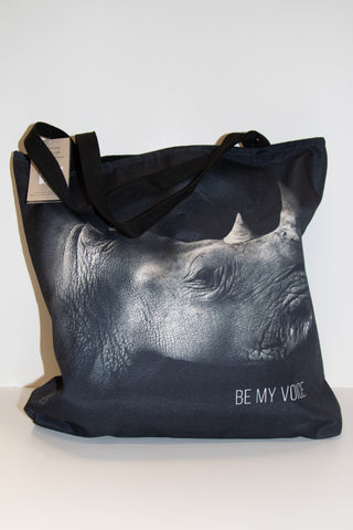 "Audubon Zoo ""BE MY VOICE"" Rhino Tote"