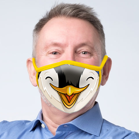 Penguin Face Mask - Adult
