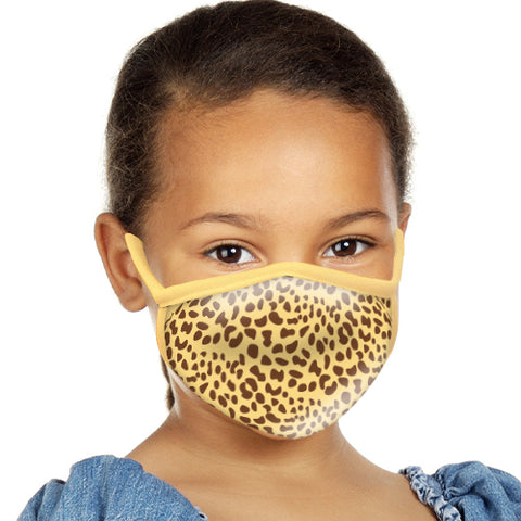 Cheetah Face Mask - Child