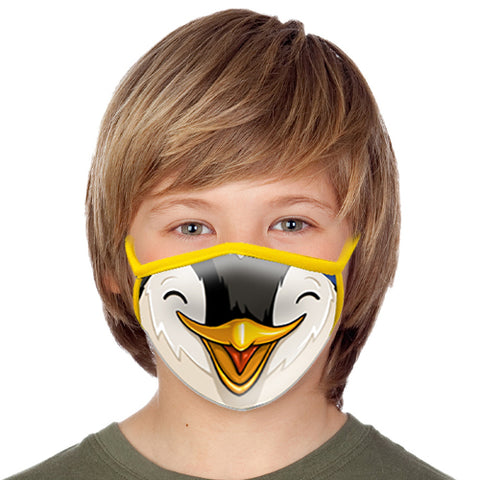 Penguin Face Mask - Child