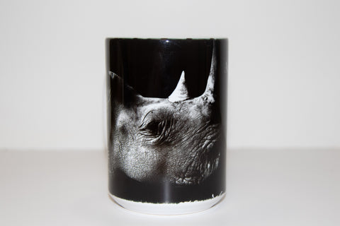 """BE MY VOICE"" Rhino Mug"