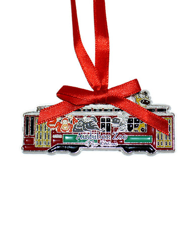 Audubon Zoo Streetcar Ornament