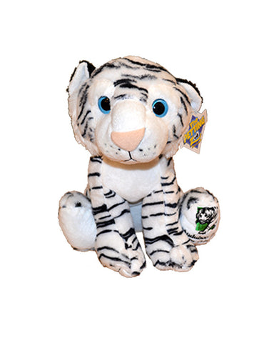 Audubon Zoo White Tiger Plush